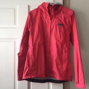 Jackets & Blazers - Patagonia Rain Jacket Coral Pink NWOT